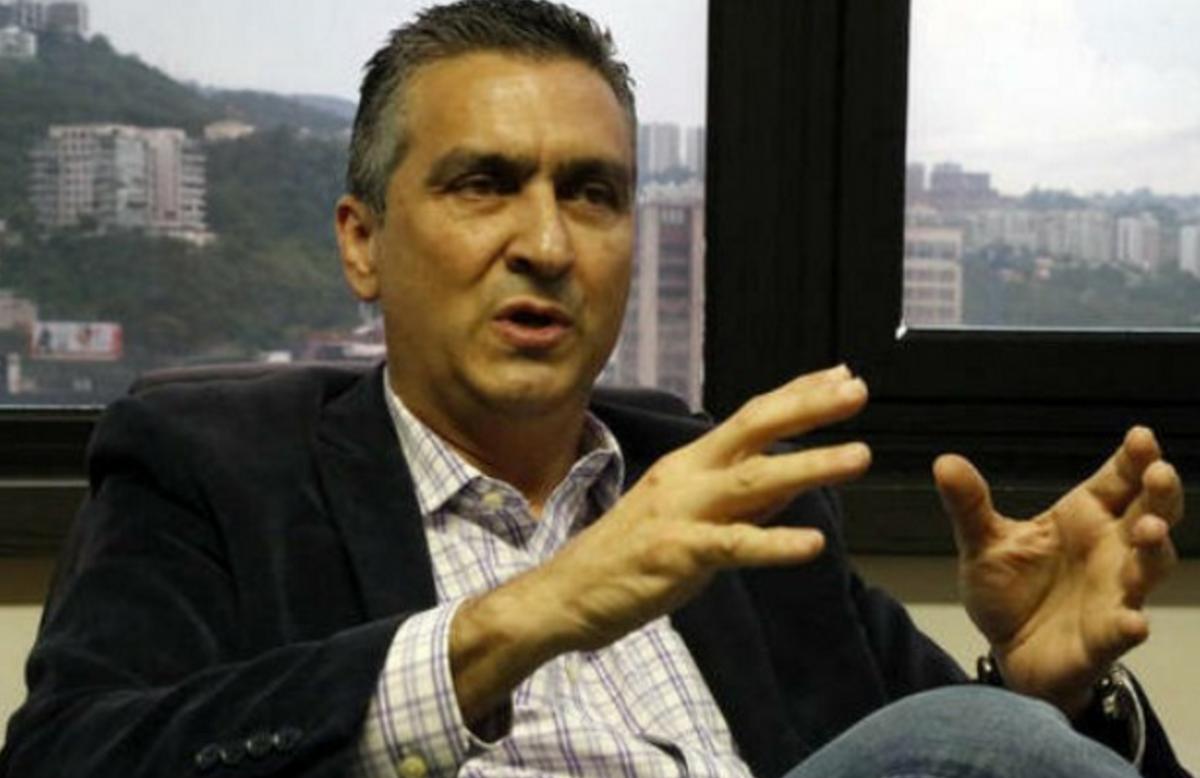 New Vice-President for Productive Economy Miguel Pérez Abad. (VTV)