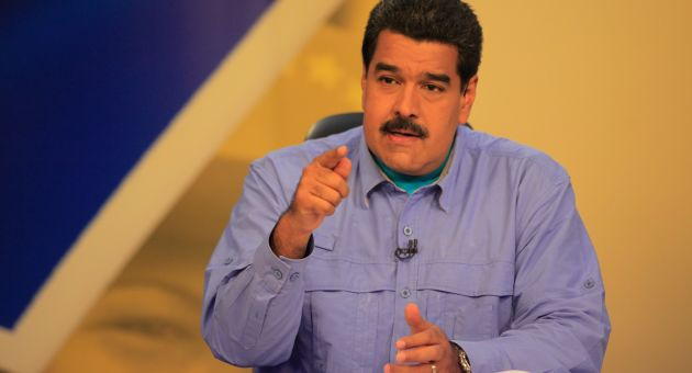 "Venezuelan President Nicolas Maduro says he is impressed by what he terms Bernie Sanders' ""revolutionary"" campaign message. (AVN/ Archive)"