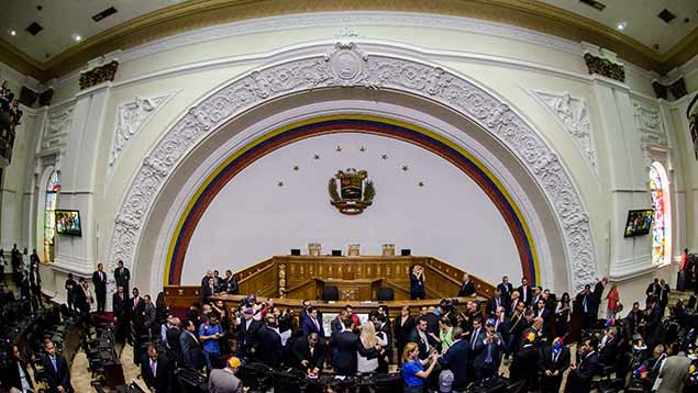 Venezuela's National Assembly has been under the majority control of rightwing coalition, the Democratic Roundtable Unity, since the beginning of 2016. (Correo del Orinoco)
