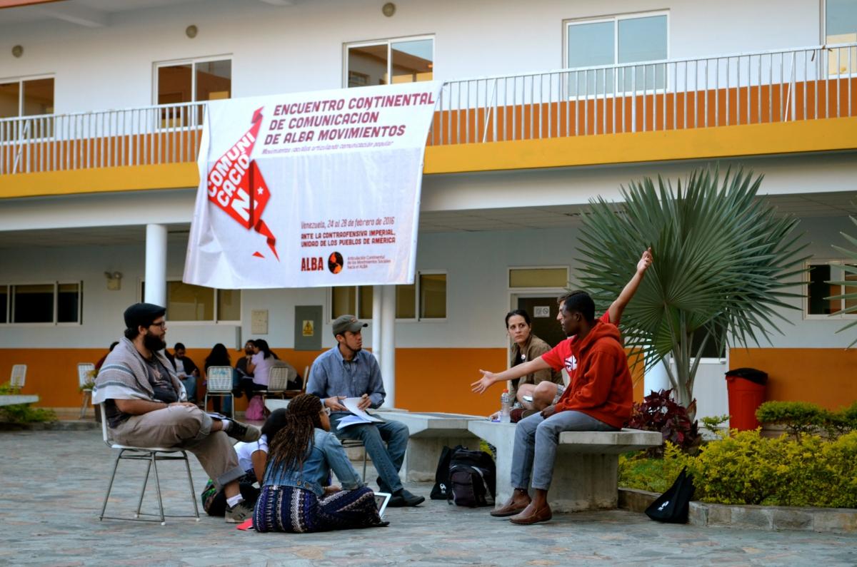 """Continental Communications Meeting of ALBA Movements"" (Rachael Boothroyd Rojas - Venezuelanalysis)"
