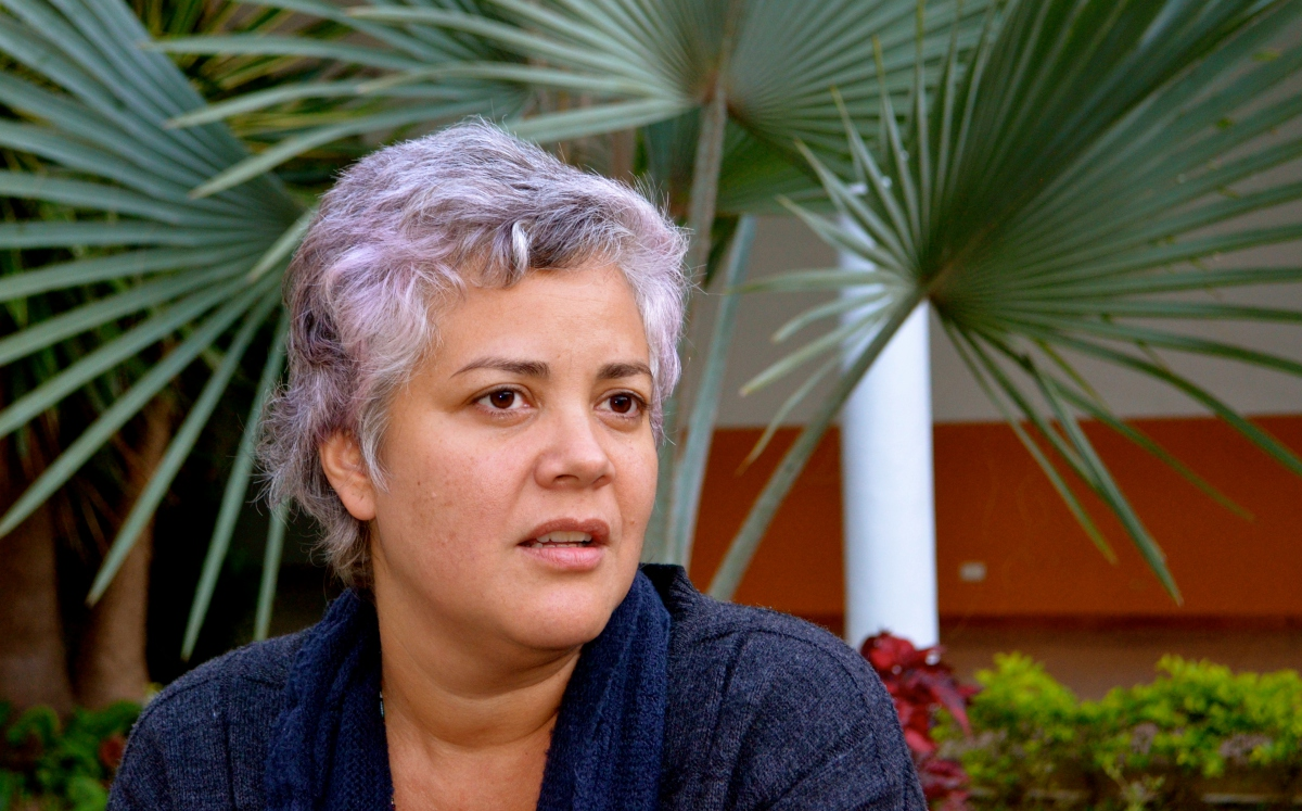 """Carmen Lepagep from Venezuela's Popular Feminist School explained to Venezuelanalysis that the continent's struggle was far from over, despite recent rightwing incursions on its political scene. Movements highlighted the need to recognise the limits of progressive but reformist neo-developmentalist governments, and the importance of reaching the """"unconvinced"""" and not just political militants. (Rachael Boothroyd Rojas - Venezuelanalysis)"""