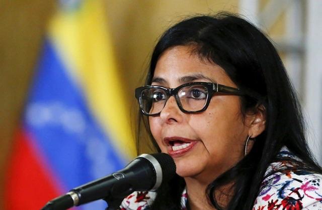 Venezuelan Foreign Minister, Delcy Rodriguez (Archive)