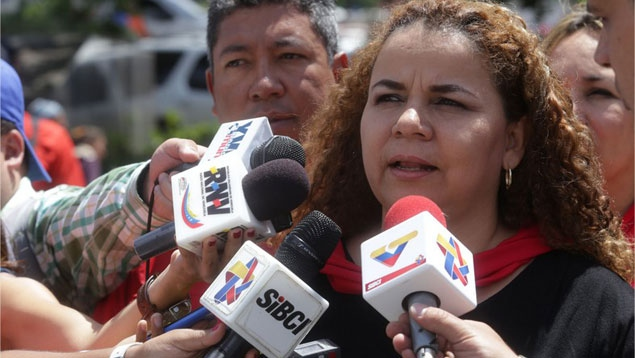 Minister of Prisons Iris Valera announced the release of the hostages (AVN)