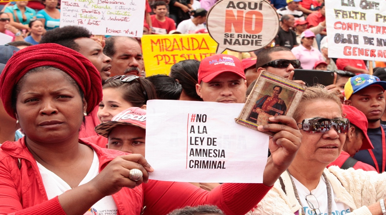 While the amnesty law has emerged as a priority for MUD legislators, the legislation has been fiercely opposed by Maduro and his supporters. (AVN)