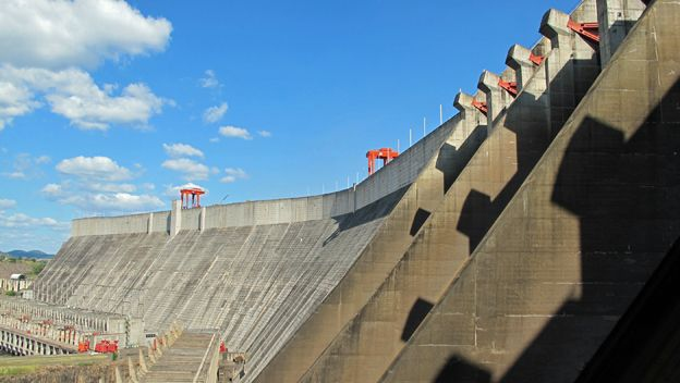 El Guri, Venezuela's largest hydroelectric dam. (Archive)