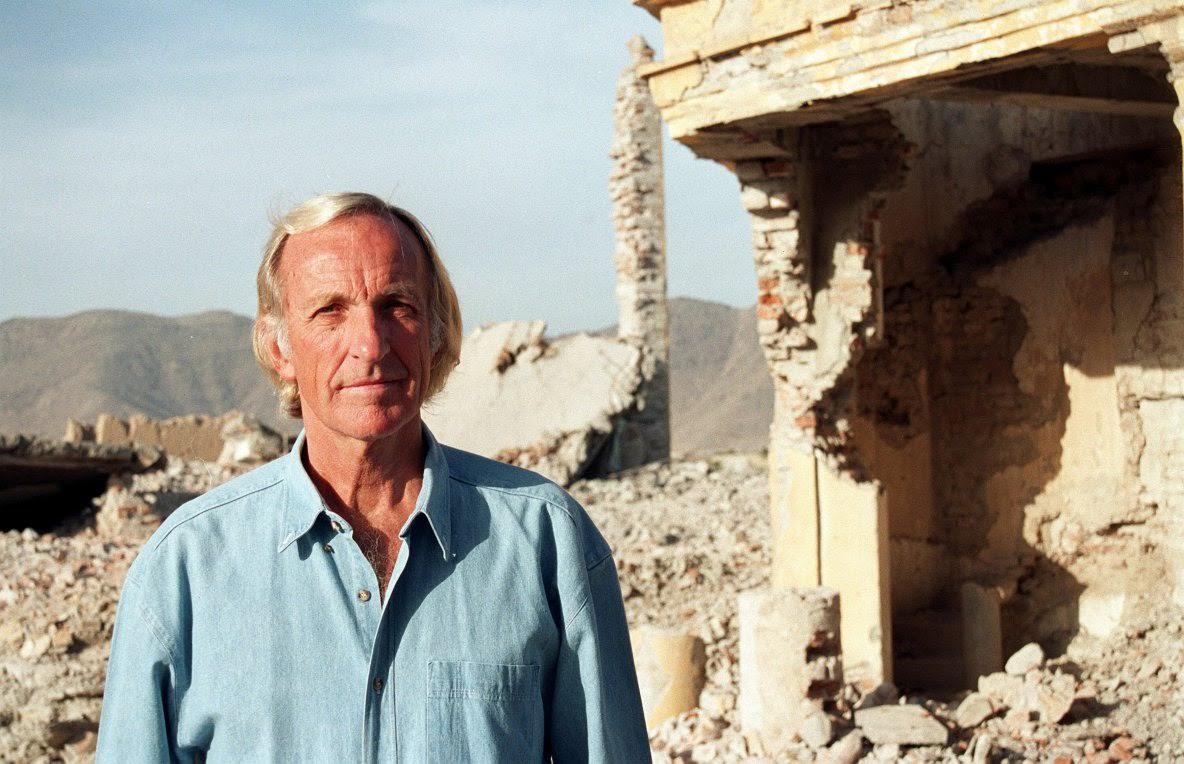 Journalist John Pilger (archives)