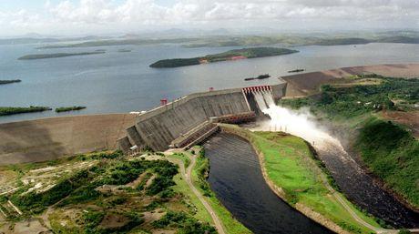 El Guri hydroelectric dam, source of 70% of Venezuela's power. (El Nacional)