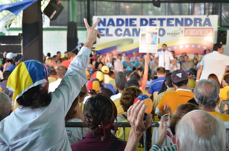 The opposition rally (Alex Urbina/Sumarium)