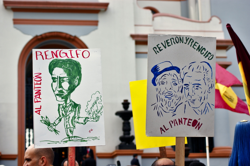 Cesar Rengifo and Armando Reverón were two artists that rocked the academic and artistic traditions of Venezuela. Although they didn't fight in the wars of independence, they are hailed as having revolutionised the way in which Venezuelan identity was portrayed in the art world (Jonas Holldack/Venezuelanalysis)