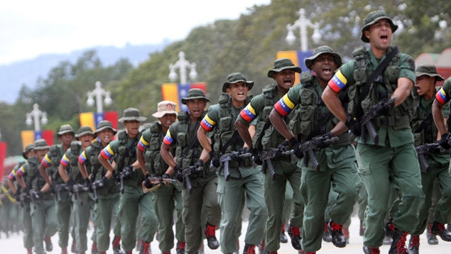 Venezuela's Bolivarian Armed Forces have begun military exercises in response to the decree (Ultimas Noticias).