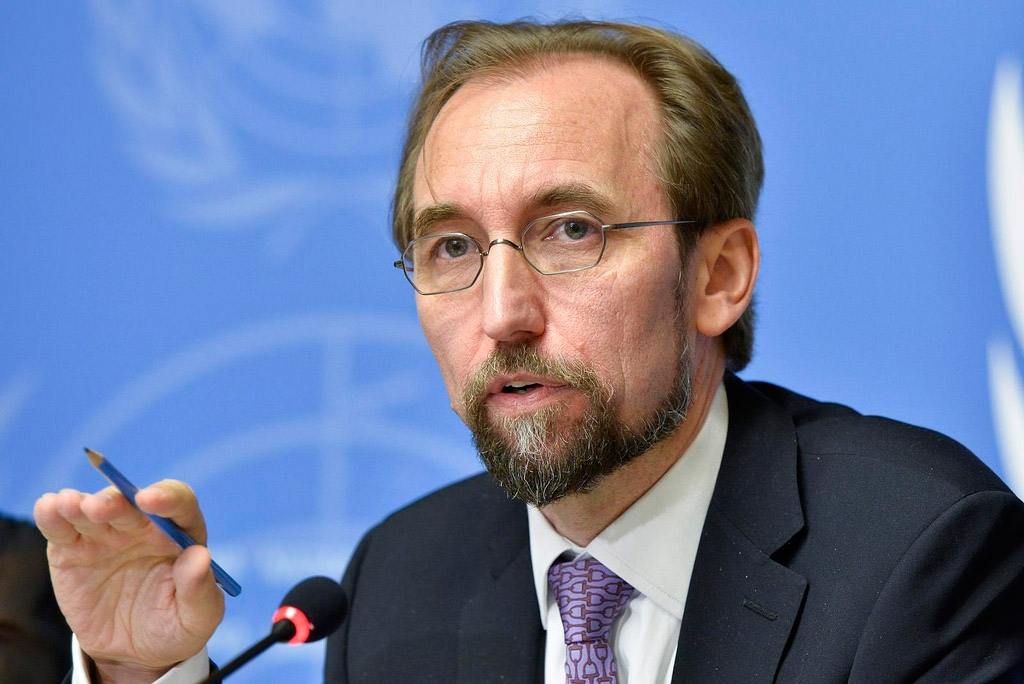 N High Commissioner for Human Rights, Zeid Ra'ad Al Hussein (Courtesy: United Nations).