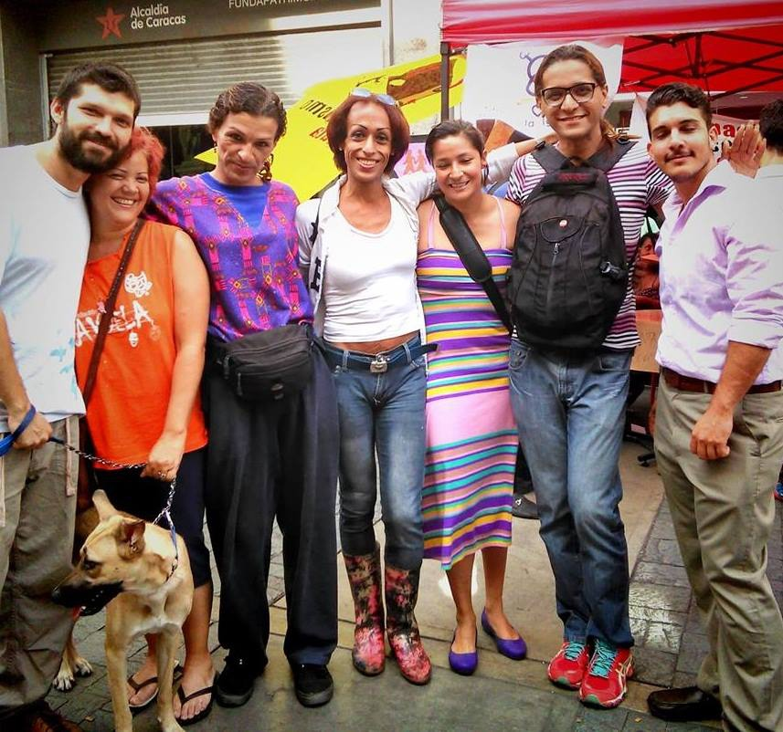 Representatives from sponsoring organizations called on Venezuelans of all backgrounds to support the initiative to declare Venezuela free of lesbo-trans-homophobia (Katherine Castillo).