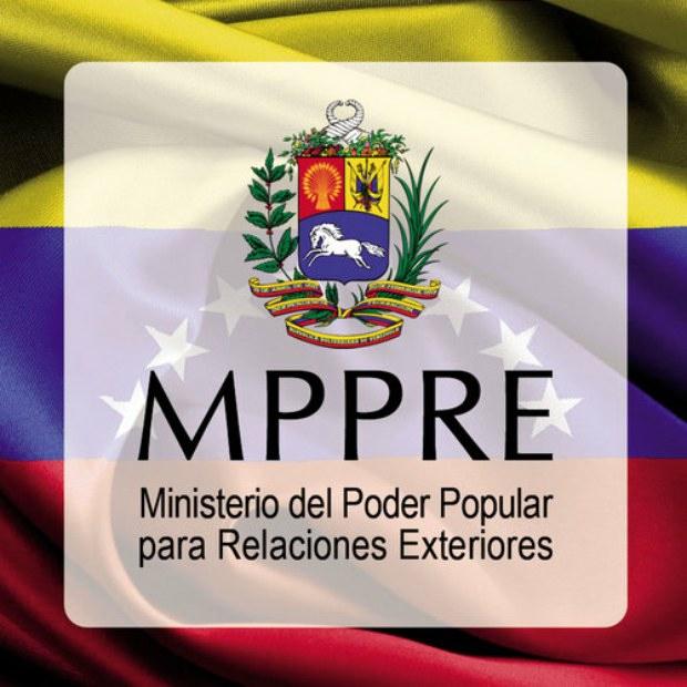 Venezuela's Ministry of Foreign Relations (VTV).