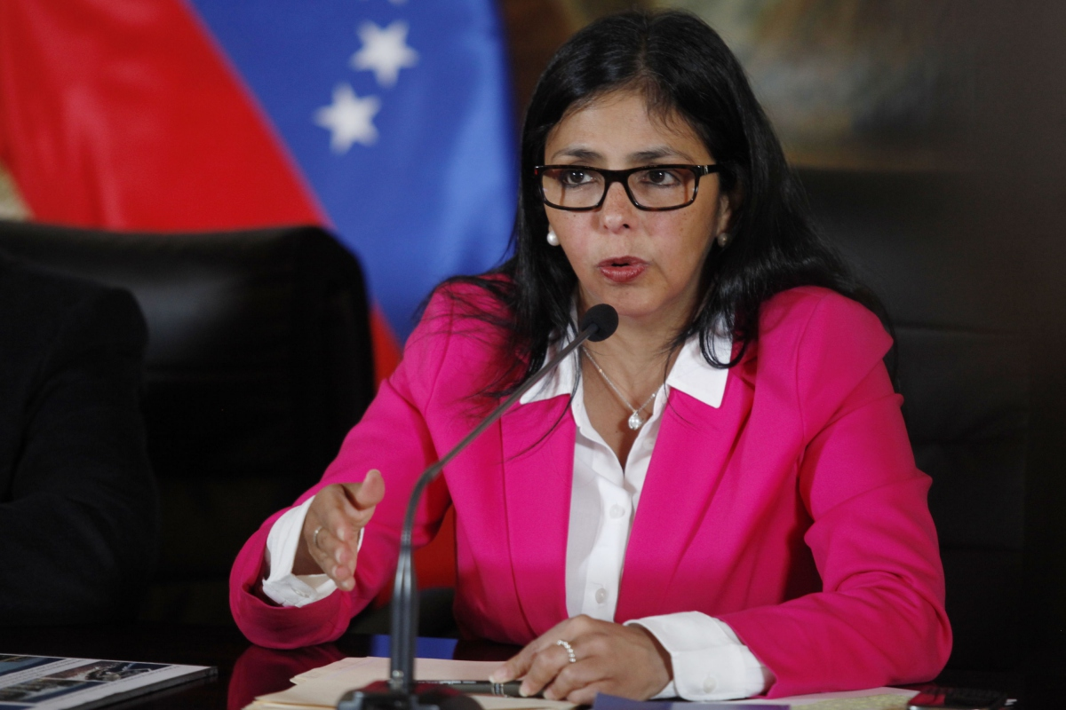 Image: Minister of Foreign Relations Delcy Rodriguez made her comments regarding General Secretary Luis Almagro via Twitter on Sunday (Archivo).