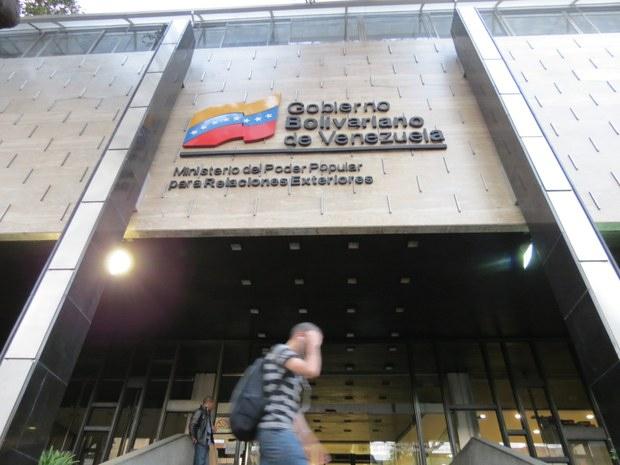 Venezuela's Foreign Affairs Ministry in Caracas (Aporrea)