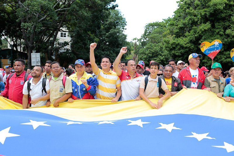 Movements across Venezuela the globe have expressed their solidarity in recent weeks (Prensa Presidencial).