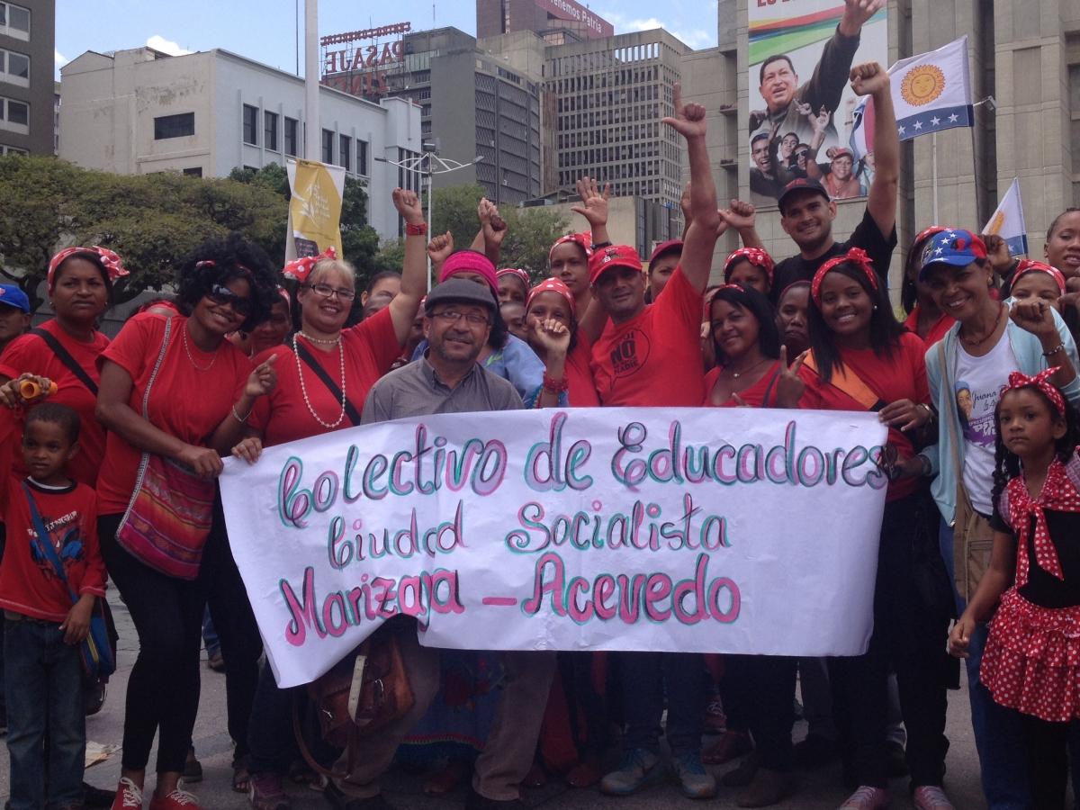 """Collective of educators Socialist City of Marizapa-Acevedo"", Barlovento, Miranda state. (Lucas Koerner/Venezuelanalysis)"