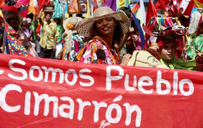 """We are cimarrón people"". (AVN)"