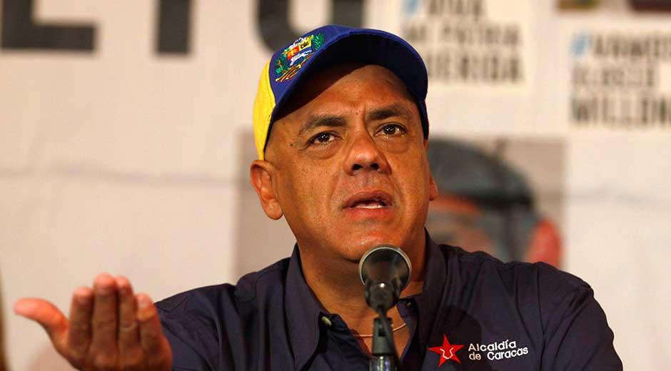 El Libertador Mayor Jorge Rodriguez. (Globovision)