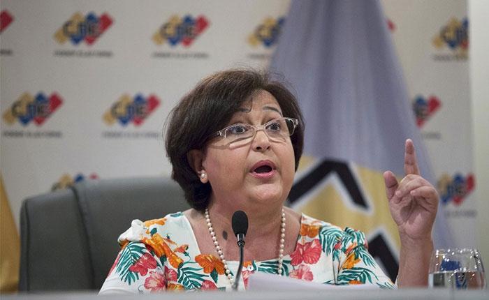 CNE President Tibisay Lucena. (Archive)