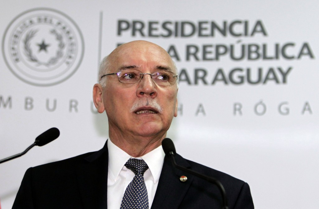 Paraguayan Foreign Minister Eladio Lozaiga. (archive)