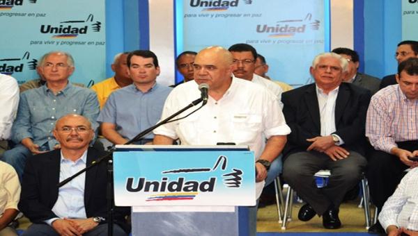 MUD General Secretary Jesus Torrealba. (Noticias 24)