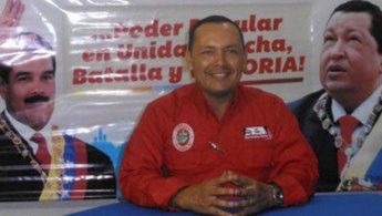 File photo of former Venezuelan deputy legislator Cesar Vera, who was killed earlier this year in a suspected paramilitary attack. (Archive)