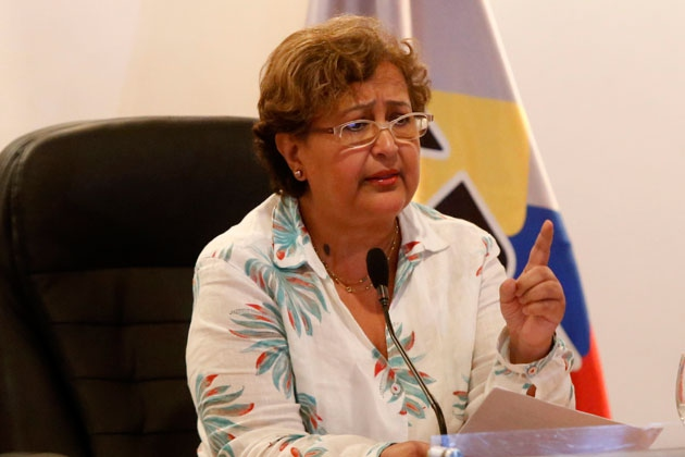 CNE President Tibisay Lucena indicated that the MUD has met the requirements necessary to formally begin the recall referendum process. (Henry Tesara /AVN)