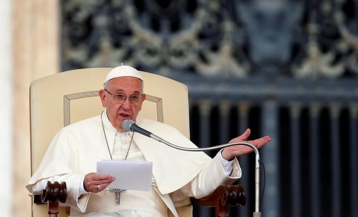 Pope Francis (Reuters).