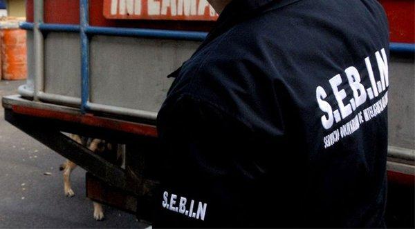 Person in Venezuelan Bolivarian National Intelligence Service (Sebin) uniform. (Es/Nacionales)