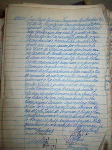 President Nicolas Maduro's birth certificate. (Albaciudad)