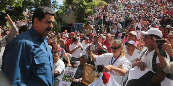Venezuela's beleaguered president, Nicolas Maduro, is still the number one option for more than 50% of Venezuelans. (Hinterlaces)