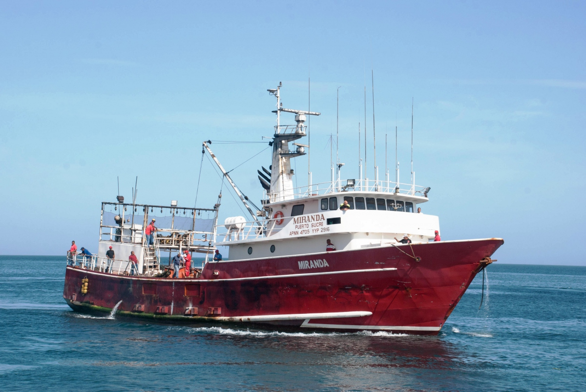 PESCALBA fishing vessel. (Ministry of Fishing)
