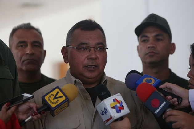 Internal Affairs Minister Nestor Reverol. (Courtesy of Ministry of Interior)