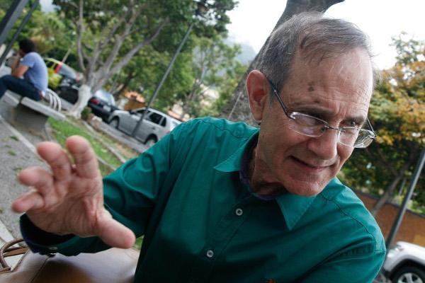 Professor Steve Ellner. (Ángel Dejesús)