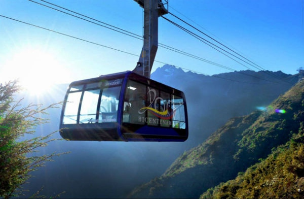 Merida's cable car has been closed since 2008. (Prensa Mintur)
