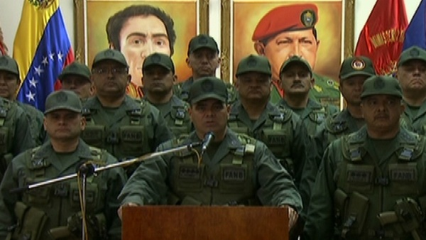 Venezuelan Defense Minister Vladimir Padrino Lopez rejects unconstitutional attempts to overthrow the Maduro government. (teleSUR)