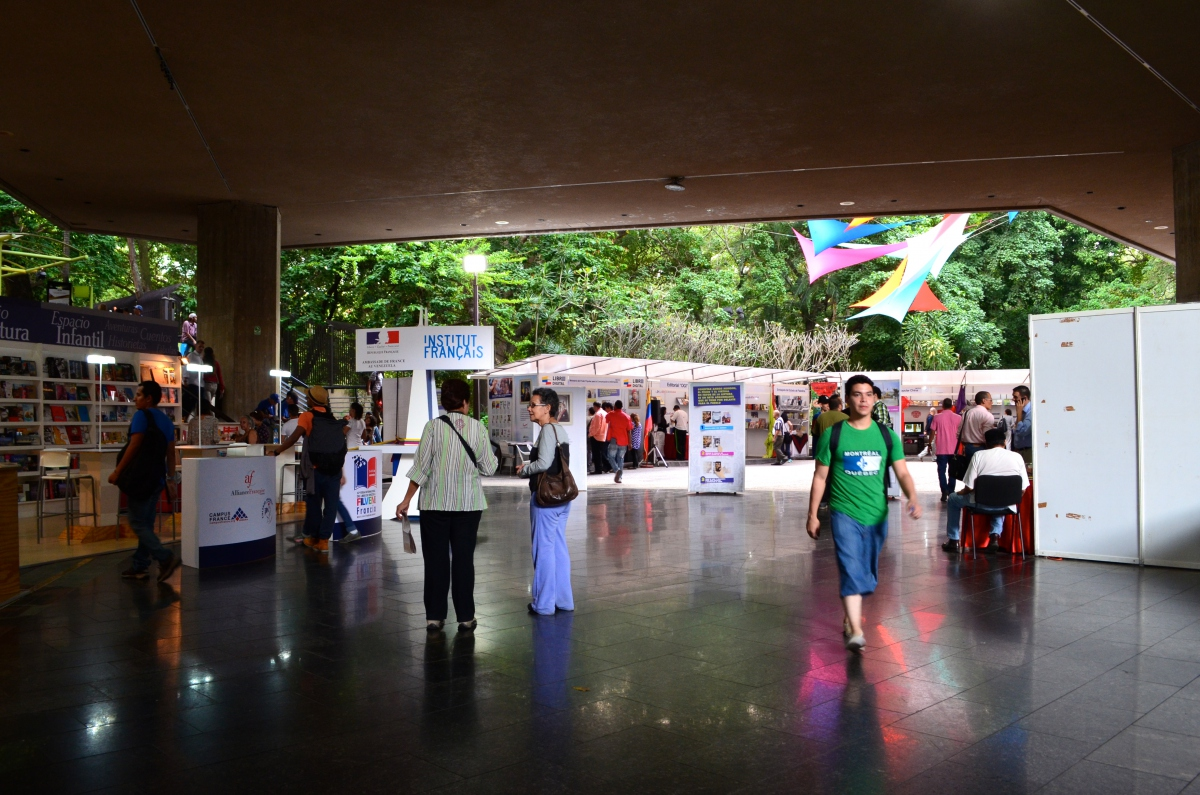 The 12th FILVEN is being held at the Teresa Carreño theatre in Caracas. (Rachael Boothroyd Rojas/Venezuelanalysis.com)