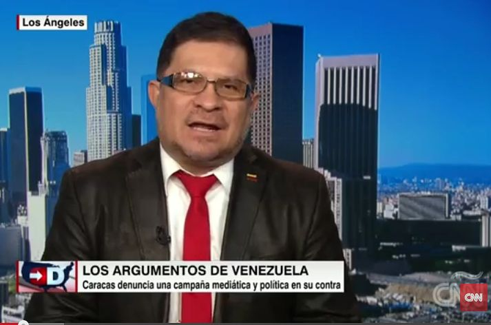 Ricardo Moreno during an appearance on CNN Español. (CNN)