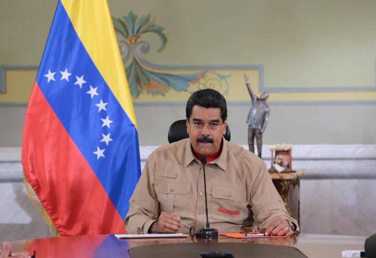 President Maduro announces the extension on Saturday night (Prensa Presidencial).