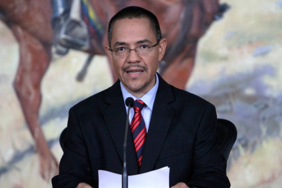 Venezuelan Communications Minister Ernesto Villegas made the announcement on Tuesday. (Archive)