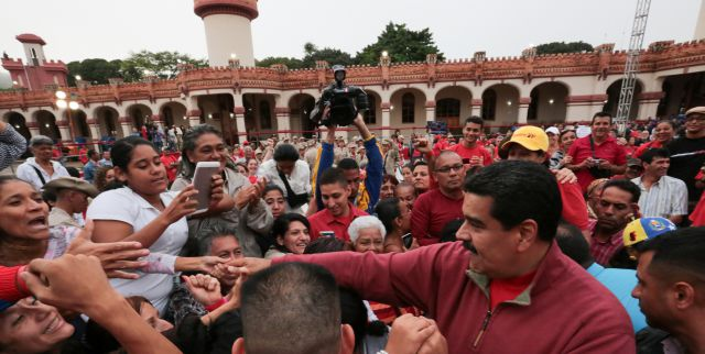 President Nicolas Maduro and his supporters remembered former president Hugo Chavez Thursday, four years after the iconic leader's final public speech. (AVN)