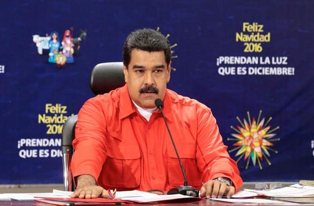 President Maduro announced the move on Sunday. (Prensa Presidencial)