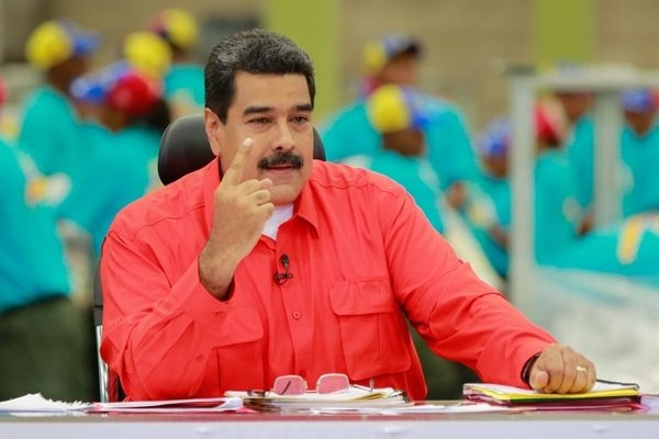 "Venezuelan president Nicolas Maduro announced the wage increase during his television programme ""Sundays with Maduro"" (AVN)."