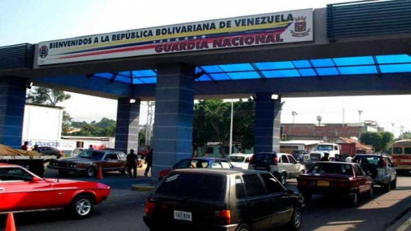 The Cucuta border crossing between Venezuela and Colombia (TeleSUR).