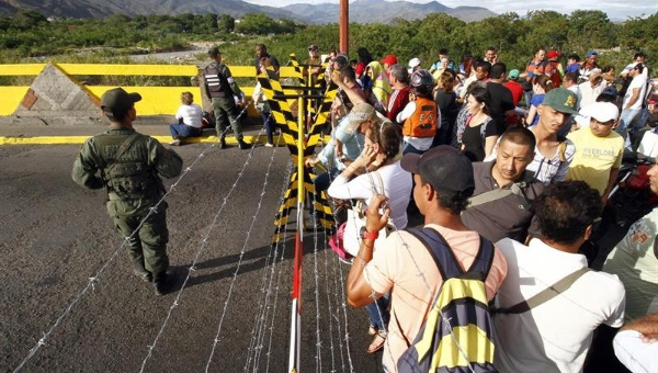 File photo of the Venezuelan border during a closure in 2015. (EFE)