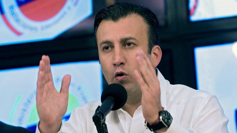 Venezuelan Vice-President Tarek El Aissami. (Archive)
