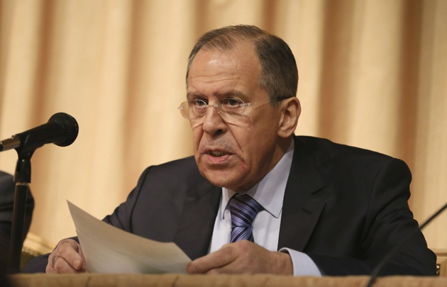 Russian Foreign Minister Sergei Lavrov. (EFE)