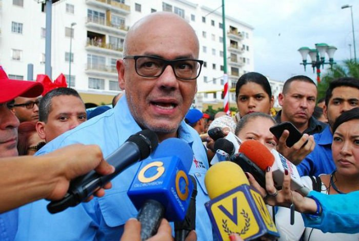 "Caracas Mayor Jorge Rodriguez called for a ""second phase of dialogue"" on Monday. (Archive)"