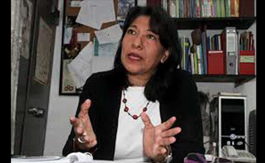 Coordinator of the Support Network for Justice and Peace Laura Roldán (SupuestoNegado)
